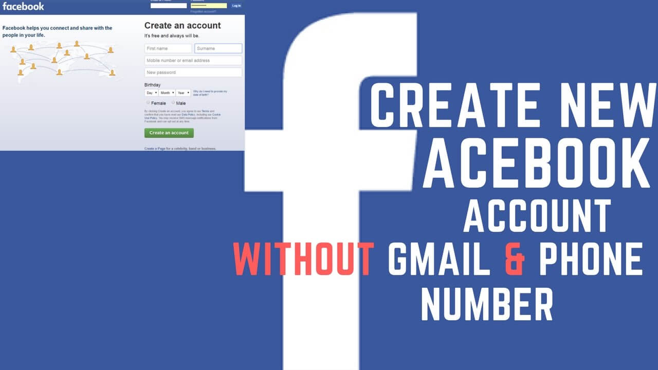 How To Create Facebook Account From Gmail Account